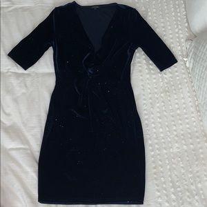 Bodycon sparkling mini dress